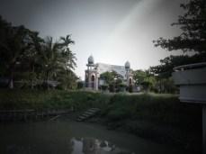 At the Gautia Mosque - 2