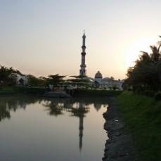 At the Gautia Mosque - 6