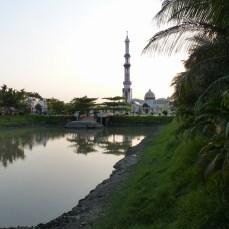 At the Gautia Mosque - 8