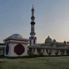 At the Gautia Mosque - 11