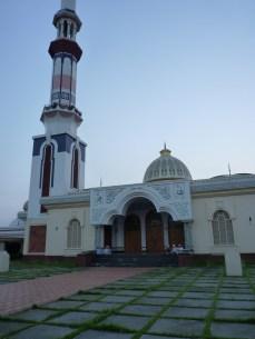 At the Gautia Mosque - 13